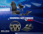Subsonic - Driving Cockpit SRC 200 - Bucket simulation seat with support for steering wheel and pedals - PS4, Xbox One, PS3, PC