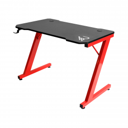 Raiden - Ergonomic gaming desk with carbon finish for PC gaming