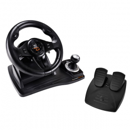 Superdrive - GS500 racing wheel with pedals, paddles and shifter