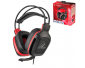 Subsonic - Gamer Headset - Pro Gaming 50 for PS4 - Xbox One - PC - Nintendo Switch - Red Sports Edition
