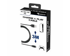 Subsonic - Accessory - 3 meters USB C XXL charging cable for PS5 controller - Playstation 5