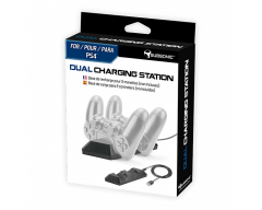 SUBSONIC - Station de recharge pour 2 manettes PS4™ - DUAL CHARGING STATION