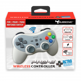 Wireless controller for Nintendo Switch V2 (includes gyroscope)