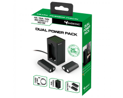 Subsonic - Dual Power Pack charging kit - 2 batteries, charger and cable for Xbox series X/S controller