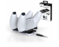 Subsonic - White charging station for 2 Dual Sense PS5 controllers - Dual charging dock for Playstation 5 controller
