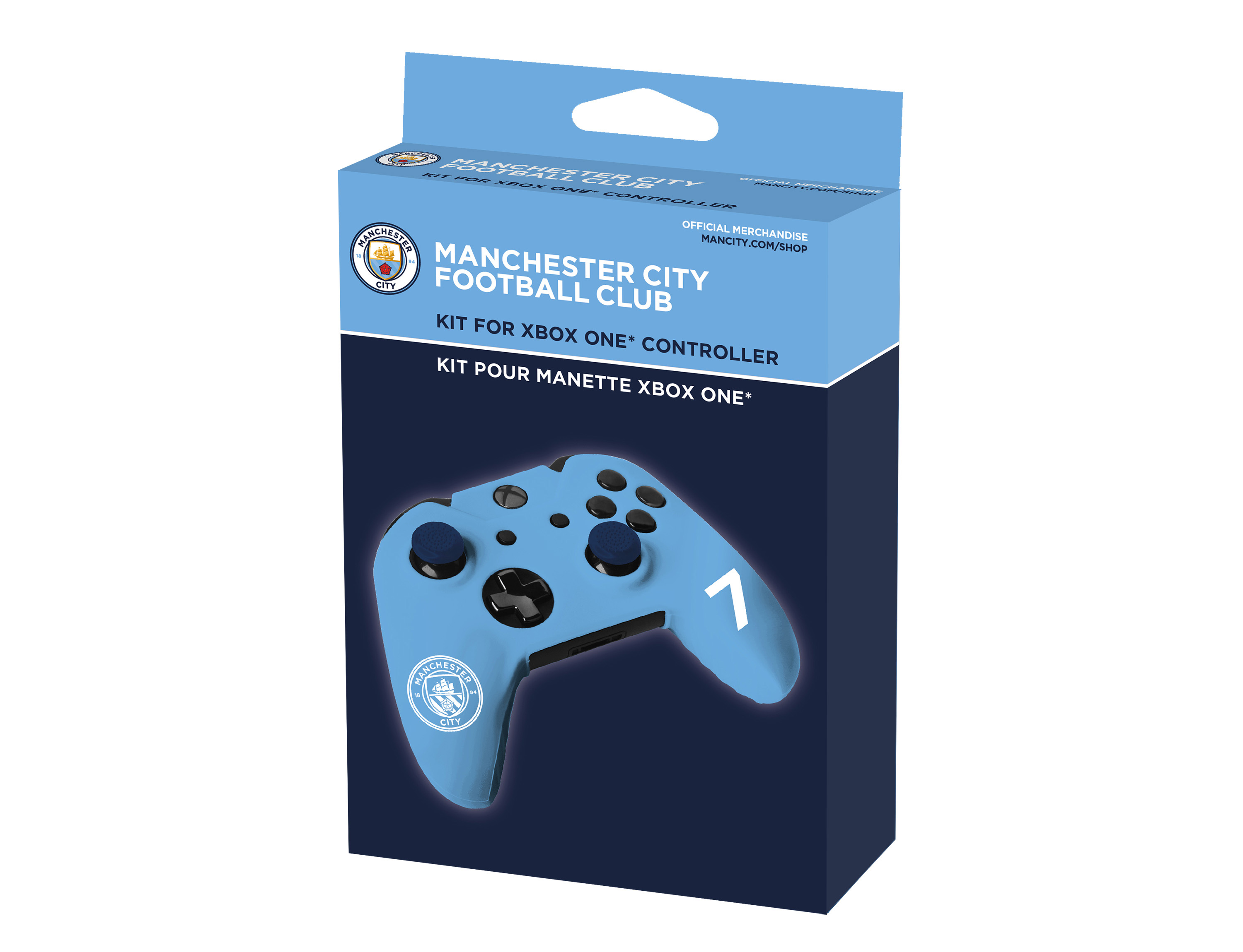 Custom kit for Xbox One controller MCFC MANCHESTER CITY